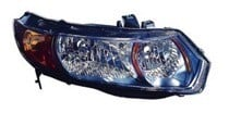 2008 Honda Civic Headlight Assembly - Left (Driver)