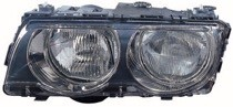 1999 - 2001 BMW 740i Headlight Assembly (Halogen / with Bright Bezel Lens) - Left (Driver)