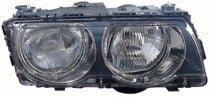 1999 - 2001 BMW 740i Headlight Assembly (Halogen + with Bright Bezel Lens) - Right (Passenger)