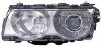 1999-2001 BMW 740i Headlight Assembly (Xenon / with Bright Bezel Lens) - Left (Driver)