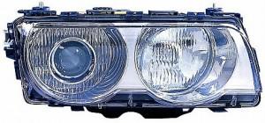 1999-2001 BMW 740i Headlight Assembly (Xenon / with Bright Bezel Lens) - Right (Passenger)