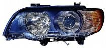 2000 - 2003 BMW X5 Headlight Assembly (Xenon + with White Turn Signals) - Left (Driver)