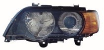 2000 - 2003 BMW X5 Headlight Assembly (Xenon + with Amber Turn Signals) - Left (Driver)