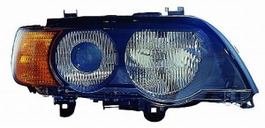 2000-2003 BMW X5 Headlight Assembly (Xenon / with Amber Turn Signals) - Right (Passenger)