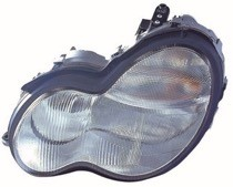 2002 - 2007 Mercedes Benz C320 Headlight Assembly - Left (Driver)