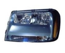 2006 - 2009 Chevrolet (Chevy) Trailblazer Front Headlight Assembly Replacement Housing / Lens / Cover - Left (Driver)