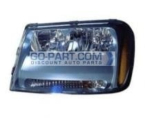 2006-2009 Chevrolet (Chevy) Trailblazer Headlight Assembly - Left (Driver)