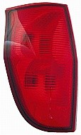 2004 - 2005 GMC Envoy Rear Tail Light Assembly Replacement / Lens / Cover - Left (Driver)