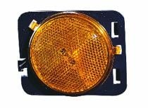 2007 - 2015 Jeep Wrangler Front Marker Light Assembly Replacement / Lens Cover - Left (Driver)