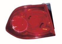 2006 - 2009 Kia Optima Rear Tail Light Assembly Replacement / Lens / Cover - Left (Driver)
