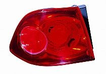 2006-2009 Kia Optima Tail Light Rear Brake Lamp - Left (Driver)