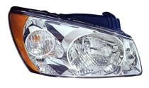2004 - 2006 Kia Spectra Headlight Assembly - Left (Driver)