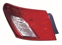 2007 - 2009 Lexus ES350 Tail Light Rear Lamp - Left (Driver)