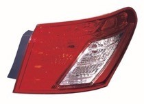 2007 - 2009 Lexus ES350 Tail Light Rear Lamp - Right (Passenger)