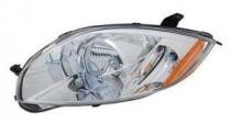 2007 - 2008 Mitsubishi Eclipse Front Headlight Assembly Replacement Housing / Lens / Cover - Left (Driver)