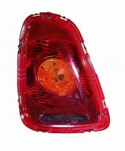 2007-2010 Mini Cooper Tail Light Rear Lamp (with Amber Lens) - Left (Driver)