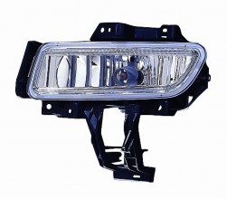 2007-2009 Mazda 3 Mazda3 Fog Light Lamp (with Turbo) - Left (Driver)