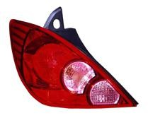 2007 - 2012 Nissan Versa Tail Light Rear Lamp (Hatchback) - Left (Driver)