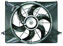 2006 - 2008 Hyundai Sonata Radiator Cooling Fan Assembly (2.4L)