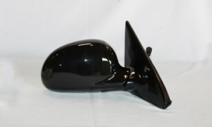 1992-1995 Honda Civic Side View Mirror (Coupe/Hatchback / Manual Remote / Fold-Away / Black) - Right (Passenger)