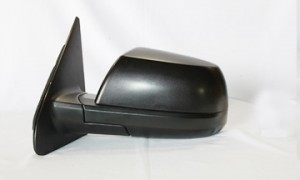 2007-2013 Toyota Tundra Pickup Side View Mirror (Base Model / without Cold Climate Spec) - Left (Driver)