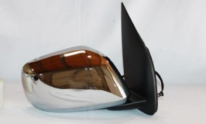 2005-2009 Nissan Frontier Pickup Side View Mirror (Extended Cab / LE Model / Non-Heated / Power Remote) - Right (Passenger)