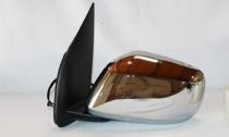2005 - 2012 Nissan Frontier Pickup Side View Mirror Replacement (Extended Cab + LE Model + Non-Heated + Power Remote) - Left (Driver)