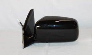 2002-2005 Mitsubishi Lancer Side View Mirror (Non-Heated / Power Remote / Fold-Away / Black / Lancer ES) - Left (Driver)