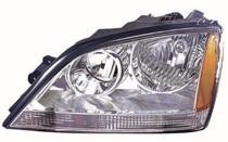 2003 - 2004 Kia Sorento Headlight Assembly - Left (Driver)