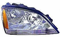 2003-2004 Kia Sorento Headlight Assembly - Right (Passenger)