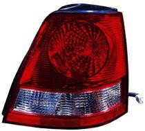 2003 - 2006 Kia Sorento Tail Light Rear Lamp - Left (Driver)