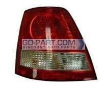 2003-2006 Kia Sorento Tail Light Rear Brake Lamp - Left (Driver)