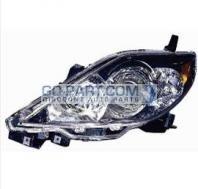 2006-2007 Mazda 5 Mazda5 Headlight Assembly (OEM) - Left (Driver)