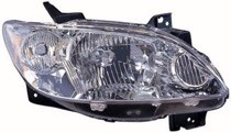 2004 - 2006 Mazda MPV Headlight Assembly (OEM + without Rocker Moldings) - Right (Passenger)