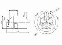 1997-1998 Toyota Camry Radiator Cooling Fan Motor
