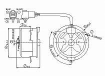 1998 2000 chrysler sebring radiator cooling fan motor 2000. Black Bedroom Furniture Sets. Home Design Ideas