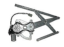 2003-2008 Toyota Corolla Window Regulator Assembly Power (Front Left)