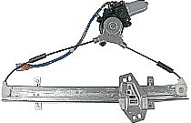 1998-2002 Honda Accord Window Regulator Assembly Power (Front Left)