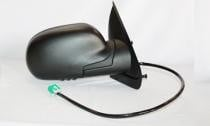 2004 - 2007 Buick Rainier Side View Mirror (Foldable + Heated + Power Remote + without Dimmer + Black) - Right (Passenger)