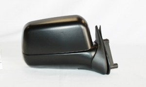 2000-2004 Nissan Xterra Side View Mirror (Manual / Non-folding / Black) - Right (Passenger)
