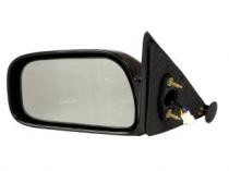 1997 - 2001 Toyota Camry Side View Mirror (Heated + Power Remote + USA + Black + Camry CE/LE/XLE) - Left (Driver)