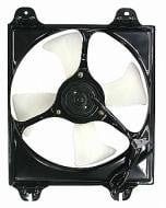1999 - 2003 Mitsubishi Galant Condenser Cooling Fan Assembly (2.4L + 3.0L)