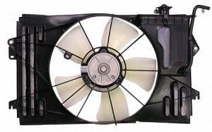 2009-2009 Toyota RAV4 Radiator Cooling Fan Assembly