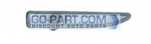 2002-2008 BMW 745i Side Repeater Light (White Turn Indicator) - Right (Passenger)