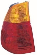 2004 - 2006 BMW X5 Rear Tail Light Assembly Replacement (On Body + with Yellow Turn Indicator) - Left (Driver)