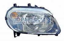 2007-2010 Chevrolet (Chevy) HHR Headlight Assembly - Right (Passenger)