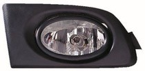 2003 Honda Civic Fog Light Assembly Replacement Housing / Lens / Cover - (Pair, Driver & Passenger)