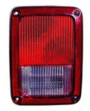 2007 - 2015 Jeep Wrangler Tail Light Rear Lamp - Right (Passenger)
