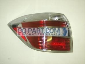 2008-2010 Toyota Highlander Hybrid Tail Light Rear Brake Lamp - Left (Driver)