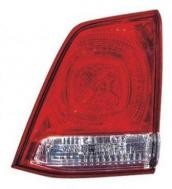 2008 - 2011 Toyota Landcruiser Tail Light Rear Lamp (Lens/Housing + BUL Unit on Lifegate) - Right (Passenger)